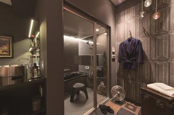 男のダンディズム薫る浴室