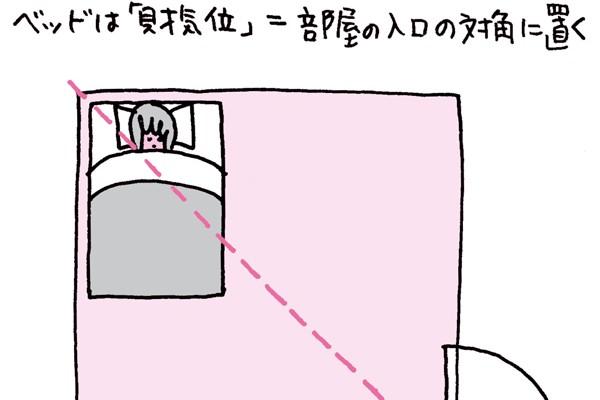パートナーと仲直りがしたい①ベッドまわりを見直す/林 秀靜さんの「おそうじ風水」