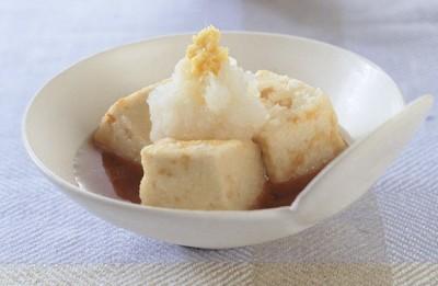 豆腐の水切り ふんわりツルルン 揚げだし豆腐