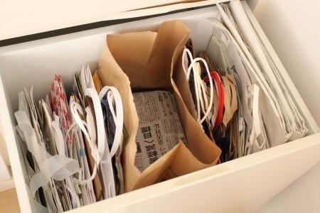 リフォーム新聞収納袋