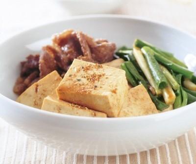 豆腐の水切り ふんわりツルルン 肉豆腐