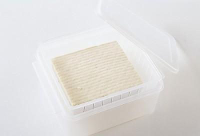 豆腐の水切り ふんわりツルルン 容器