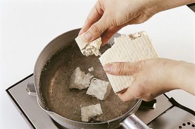 豆腐の水切り ねっとりトロトロ 鍋