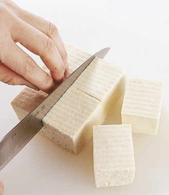 豆腐の切り方 やっこ