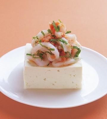 豆腐の実力 レシピ 冷ややっこ イカ明太子