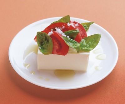 豆腐の実力 レシピ 冷ややっこ トマトバジル