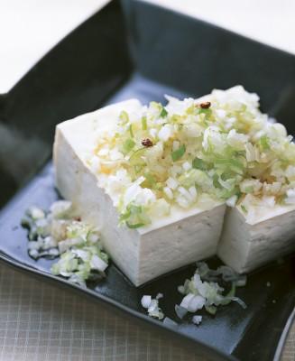 豆腐の実力 レシピ ねぎ山椒やっこ