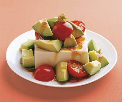 豆腐の実力 レシピ 冷ややっこ アボカド