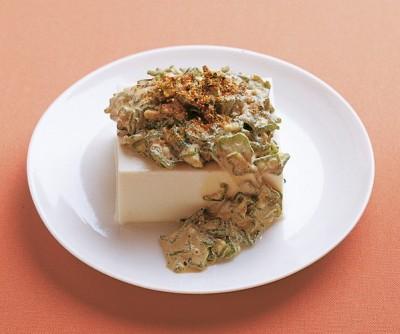 豆腐の実力 レシピ 冷ややっこ オクラ