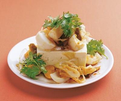 豆腐の実力 レシピ 冷ややっこ ゆで卵