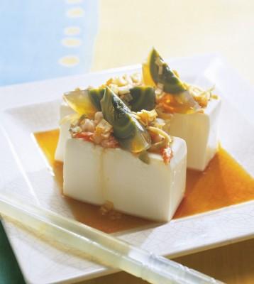 豆腐の実力 レシピ ピータン豆腐