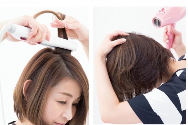 髪と頭皮のために今すべきこと10/<その3>ドライヤー&ヘアアイロンが髪や頭皮を衰えさせることもある?!③