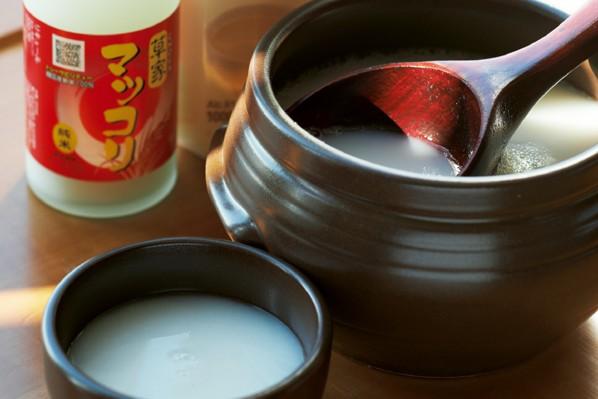 美腸ケア⑥7つの「腸活」で便秘と決別!/③お酒【マッコリ】を飲んで腸活