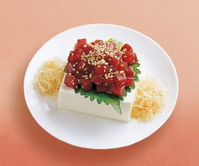 豆腐の実力 レシピ 冷ややっこ マグロ