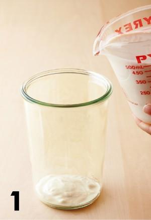 噂の健康食 豆乳ヨーグルト 種菌 作り方1