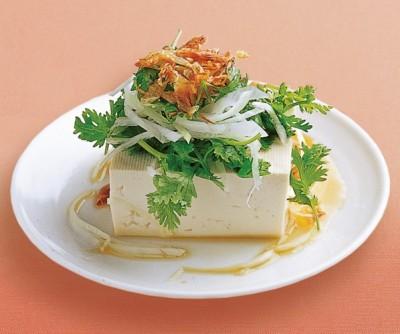 豆腐の実力 レシピ 冷ややっこ エビ