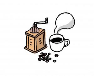 集中力アップにコーヒーブレイク