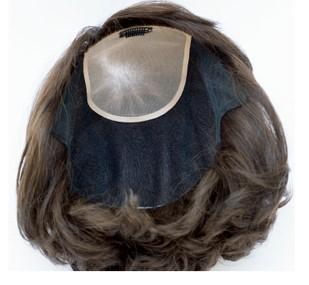 髪と頭皮 オールウィッグ 裏側