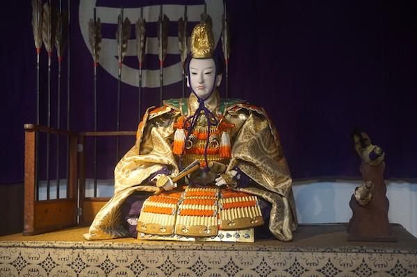 歴史ある町家で拝見する「武者人形飾り」