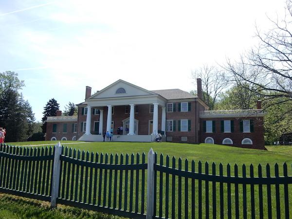 ジェームズ・マジソンの邸宅「モンティピリエ」