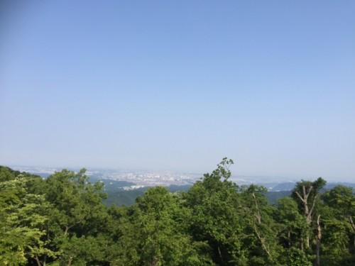 朝倉さん 高尾山頂上