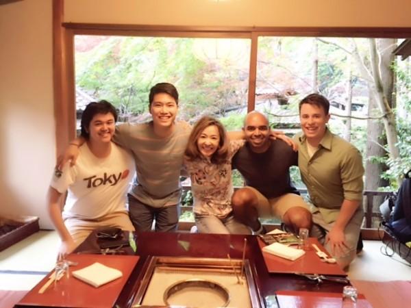 朝倉さん 朝倉さん親子と友人たち
