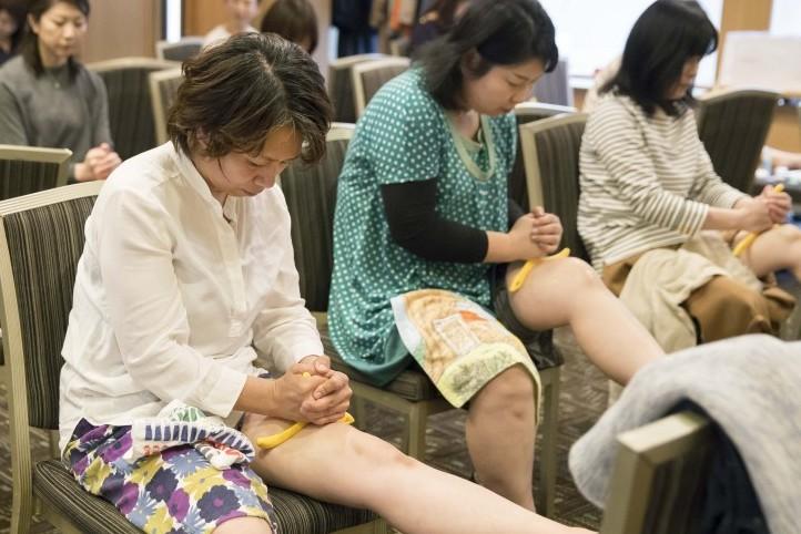 「カモン美脚!グッバイむくみ!驚異の足ツボセミナー」が開催されました
