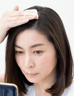 髪と頭皮 ヘアファンデーション塗り方ポイント