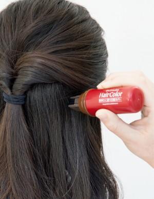 髪と頭皮 白髪リタッチペンタイプ塗り方ポイント