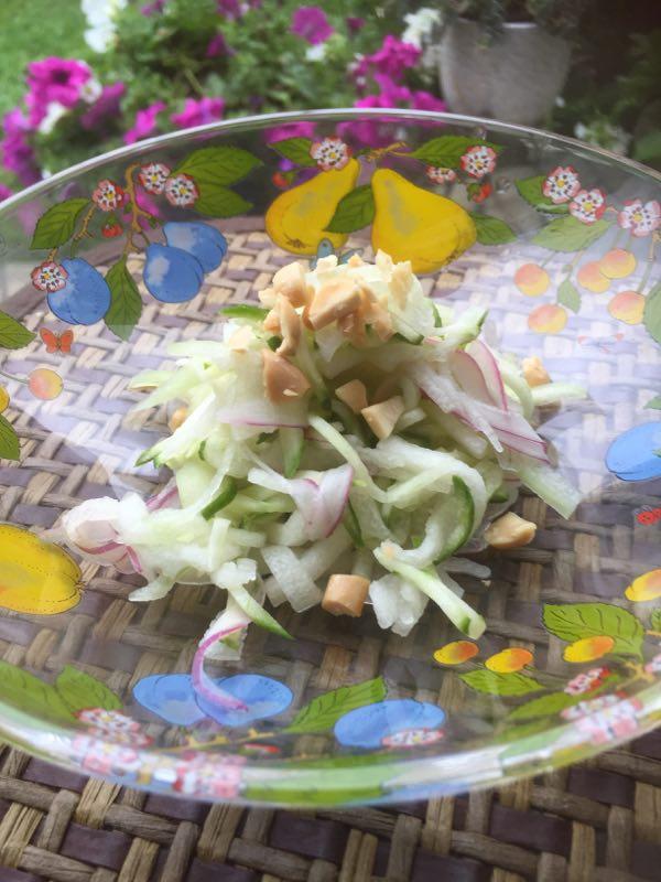 山田玲子冬瓜のサラダ