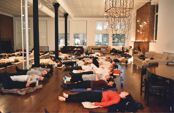 NYでは新スタイルの瞑想が大ブーム