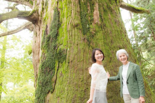 羽田美智子さんが女性樹木医に習う「心と体の整え方」①失敗こそ最高の学び