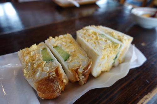石井さん 別府4 地獄蒸したまごサンドイッチ