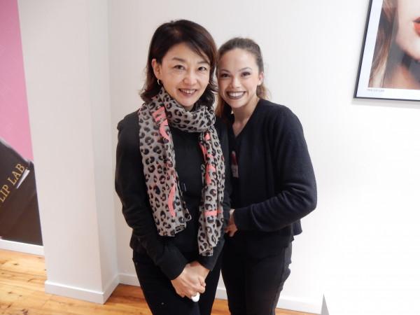 小野さん ザ・リップラボ 小野さんと女性 DSCN3603