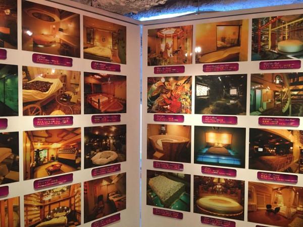 全国の有名ラブホテルの部屋の数々 はたして芸術とは何か???