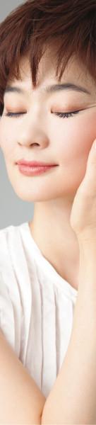 顔たるみ 顔筋膜 女性イメージ