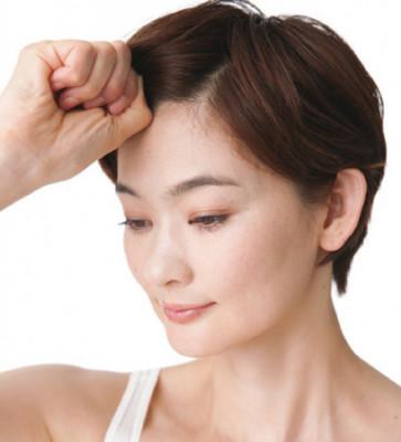 顔たるみ 頭皮 チェックテスト1