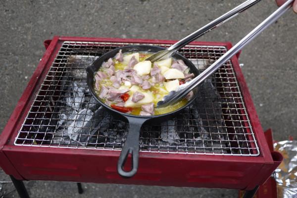 九十九里浜のバーベキューは、道の駅で地元野菜をゲットして