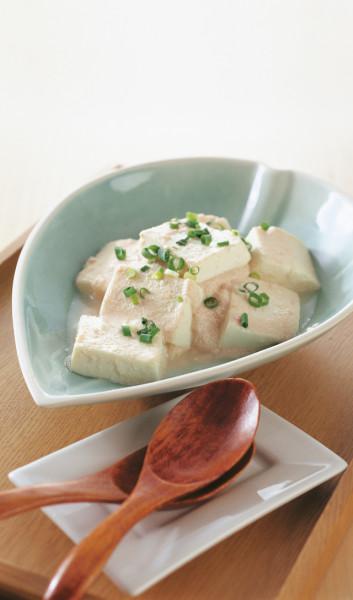 豆腐の実力 たらこ豆腐