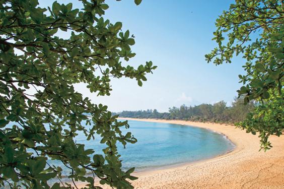 タンジョン・ジャラ・リゾート ビーチ