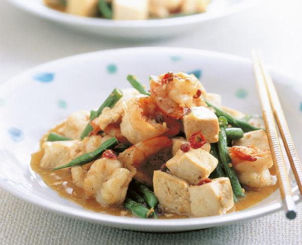 豆腐の実力 山椒炒め