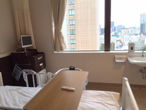 朝倉さん 病室