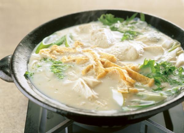 豆腐の実力 あったか豆乳鍋