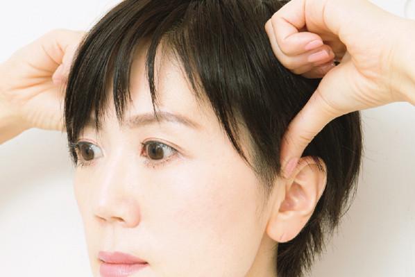 """厳選! 「薄毛」と「白髪」の予防法と治療法:「薄毛」対策⑧/頭のコリをほぐす""""頭骨膜マッサージ"""""""