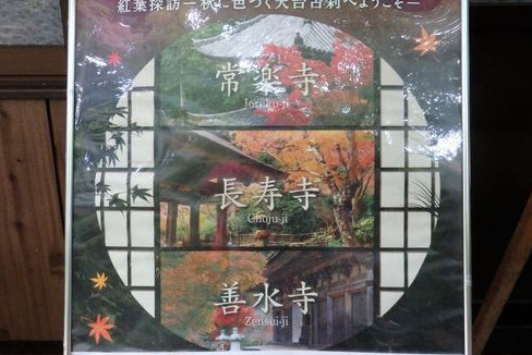 滋賀県「湖南三山」の名刹を巡って、紅葉を楽しむ
