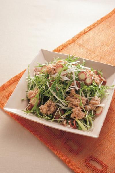 水菜と納豆⑧(ミラクル免疫力)