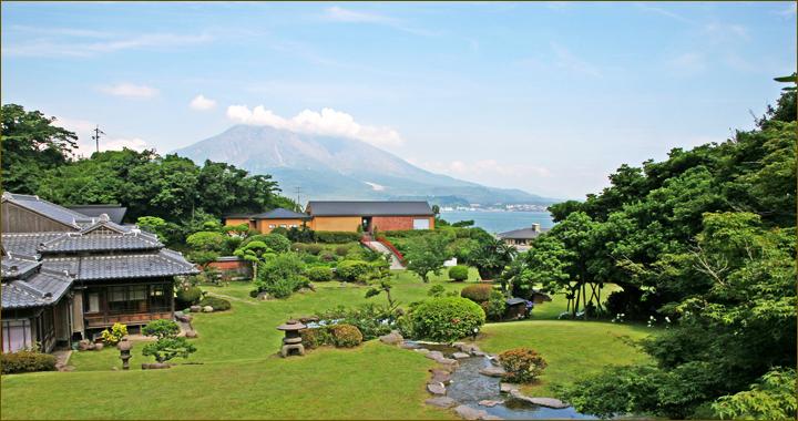 重富荘 桜島