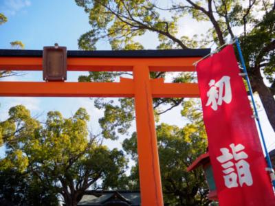 神社の初詣