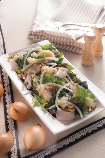 レシピ23 ホタテ玉ねぎサラダ(ミラクル免疫力)