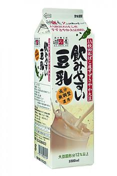 豆腐の実力 飲みやすい豆乳